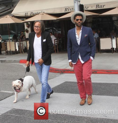 Eric Benet and Mohamed Hadid 2