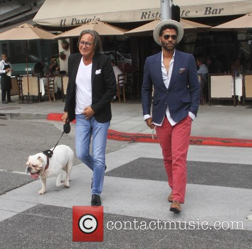 Eric Benet and Mohamed Hadid 3