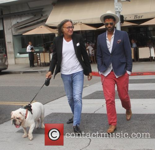 Eric Benet and Mohamed Hadid 4