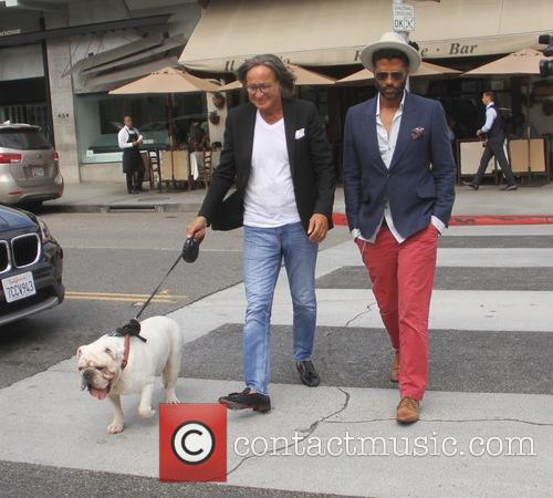 Eric Benet and Mohamed Hadid 5