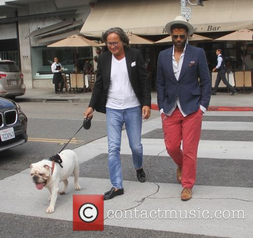 Eric Benet and Mohamed Hadid 6