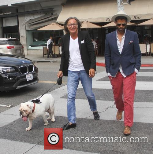 Eric Benet and Mohamed Hadid 7