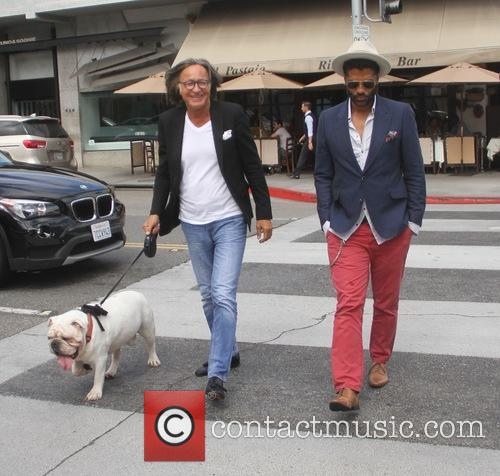 Eric Benet and Mohamed Hadid 1