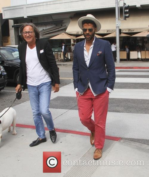 Eric Benet and Mohamed Hadid 8