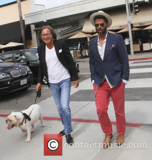 Eric Benet and Mohamed Hadid 9