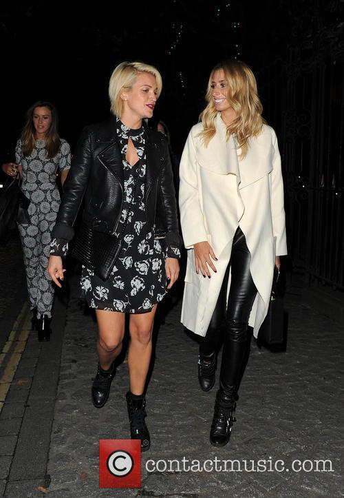 Ashley Roberts and Stacey Solomon 2