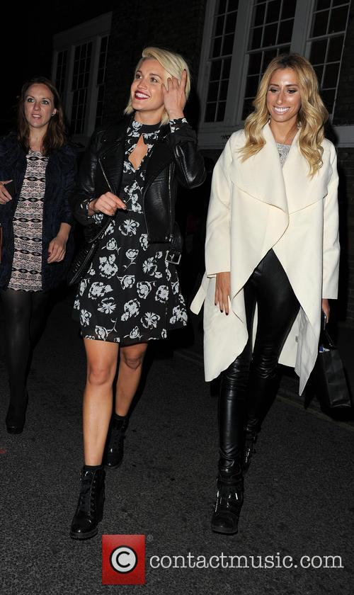 Ashley Roberts and Stacey Solomon 1