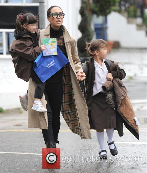 Myleene Klass, Hero Harper Quinn and Ava Bailey Quinn 2