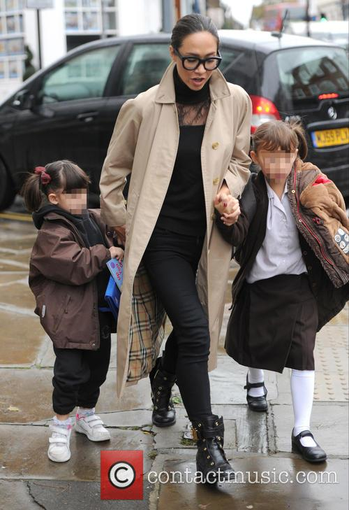 Myleene Klass, Hero Harper Quinn and Ava Bailey Quinn 8