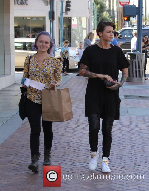 Ruby Rose out and about in Beverly Hills