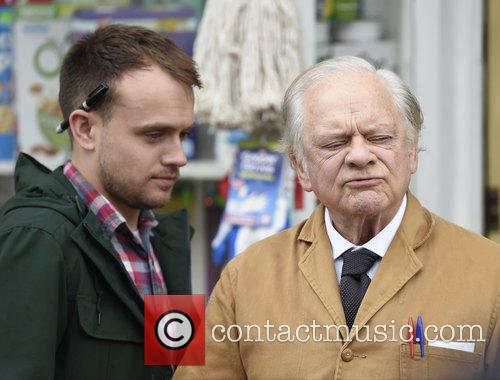 Sir David Jason and James Baxter 2