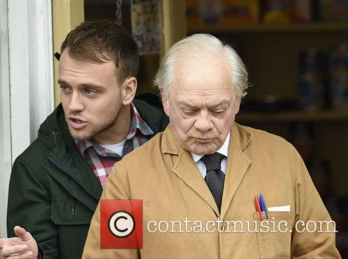 Sir David Jason and James Baxter 3