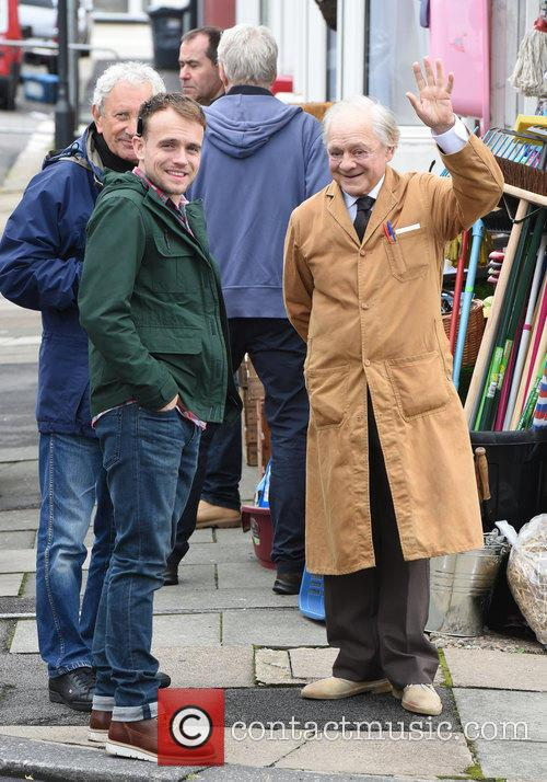 Sir David Jason and James Baxter 10