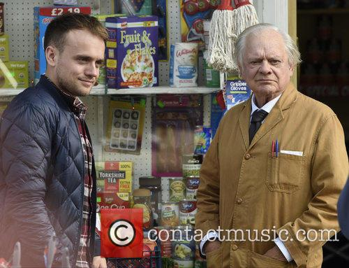 Sir David Jason and James Baxter 11
