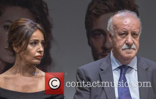 Vicente Del Bosque and Blanca Marsillach 2