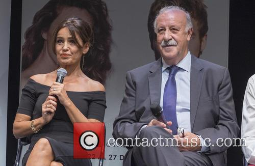 Vicente Del Bosque and Blanca Marsillach 3