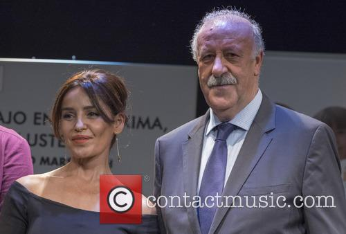 Vicente Del Bosque and Blanca Marsillach 5