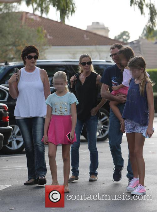Denise Richards, Sam Sheen, Lola Rose Sheen and Eloise Joni Richards 2