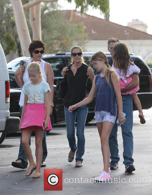 Denise Richards, Sam Sheen, Lola Rose Sheen and Eloise Joni Richards 4