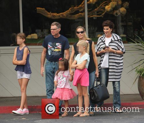Denise Richards, Sam Sheen, Lola Rose Sheen and Eloise Joni Richards 10