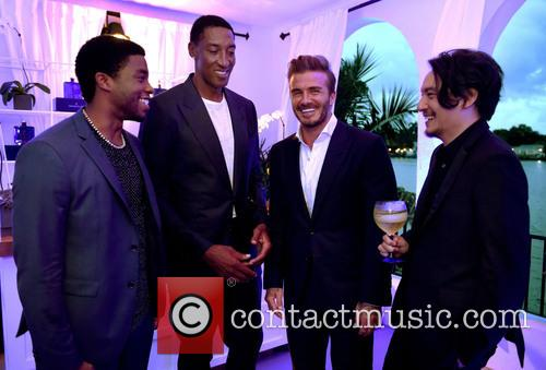 Scottie Pippen, David Beckham and Chadwick Boseman