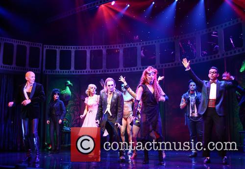 Richard O'brien, Haley Flaherty, Kristian Lavercombe, Hannah Malekzad and Ben Forster 4