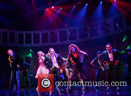 Richard O'brien, Haley Flaherty, Kristian Lavercombe, Hannah Malekzad and Ben Forster 6