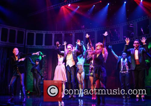 Richard O'brien, Haley Flaherty, Kristian Lavercombe, Hannah Malekzad and Ben Forster 8