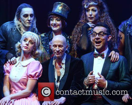 Kristian Lavercombe, Sophie Linder-lee, Hannah Malekzad, Haley Flaherty, Richard O'brien and Ben Forster 2