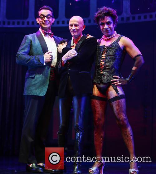 Ben Forster, Richard O'brien and David Bedella 2