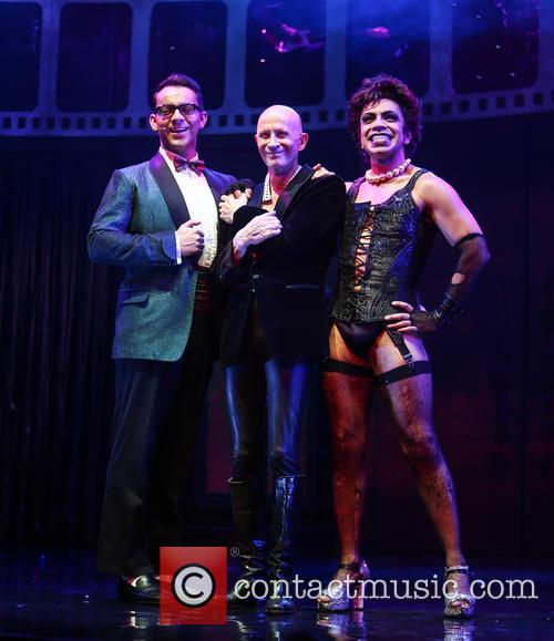 Ben Forster, Richard O'brien and David Bedella 3