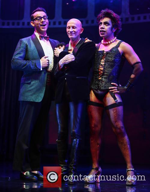 Ben Forster, Richard O'brien and David Bedella 4