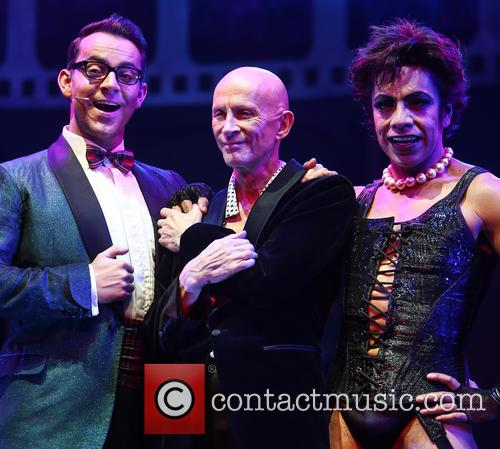 Ben Forster, Richard O'brien and David Bedella 5
