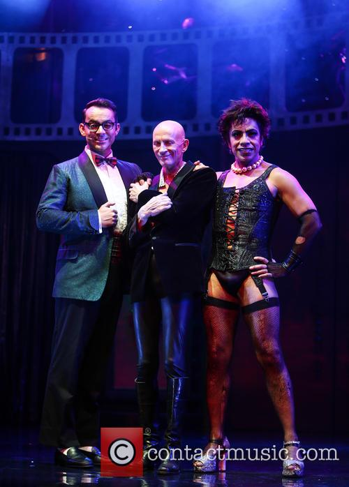 Ben Forster, Richard O'brien and David Bedella 6