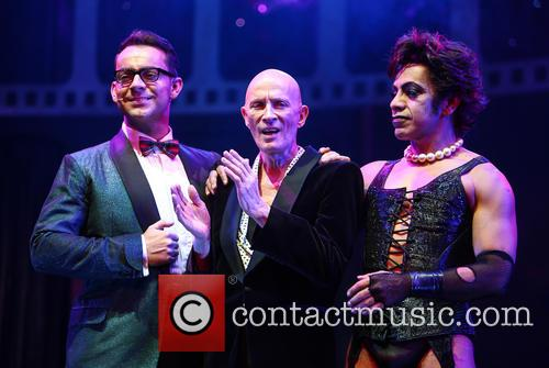 Ben Forster, Richard O'brien and David Bedella 1