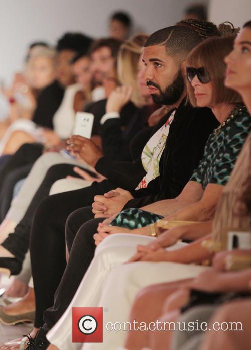 Drake and Anna Wintour 4