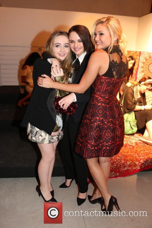 Sabrina Carpenter, Joey King and Olivia Holt 2
