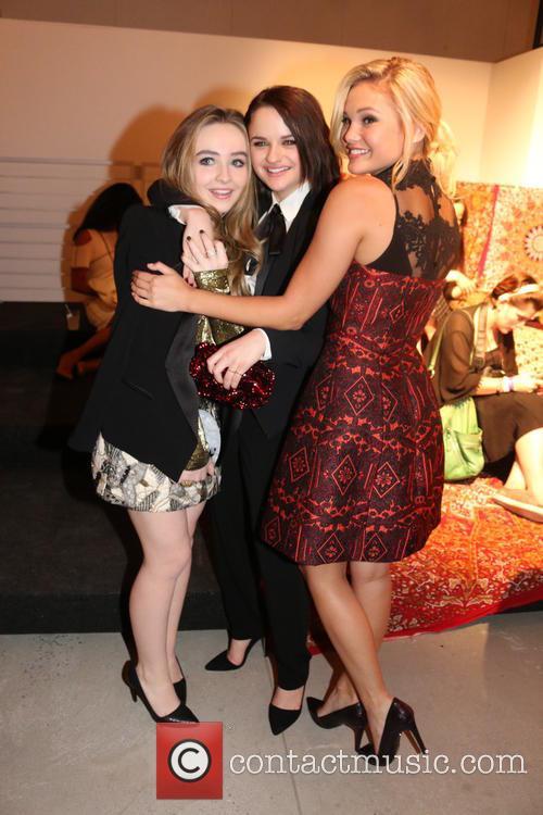 Sabrina Carpenter, Joey King and Olivia Holt 1