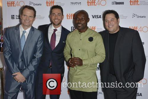 Jack Coleman, Zachary Levi, Jimmy Jean-louis and Greg Grunberg 1