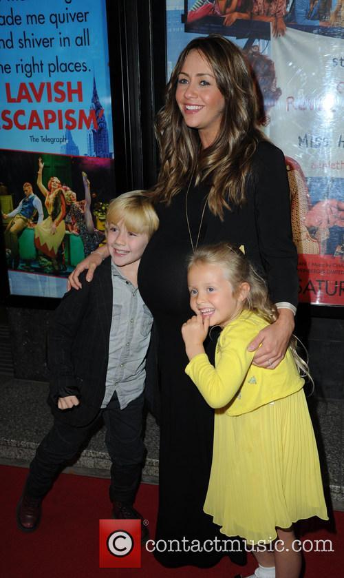Samia Ghadie, Daughter Freya and Nephew 2