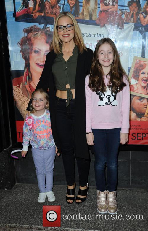 Stephanie Waring, Daughters Mia and Lexi 2