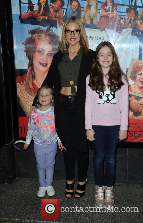 Stephanie Waring, Daughters Mia and Lexi 3