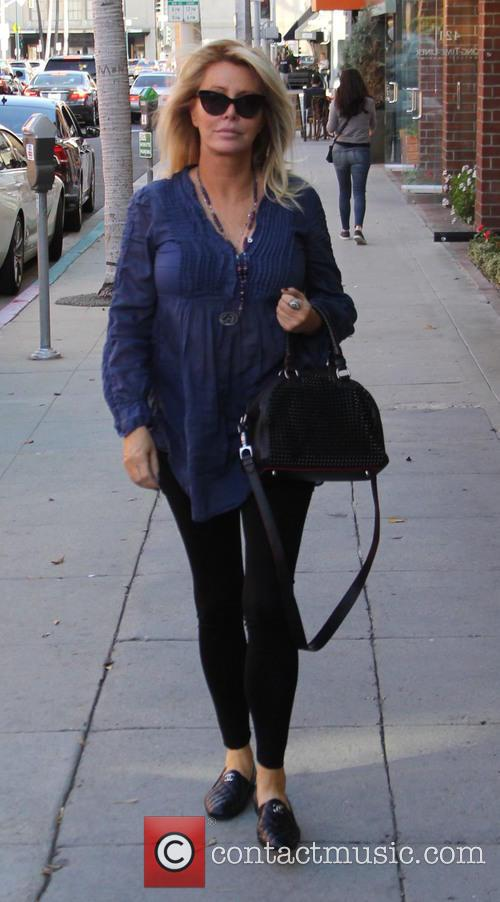 Lisa Gastineau out shopping in Beverly Hills