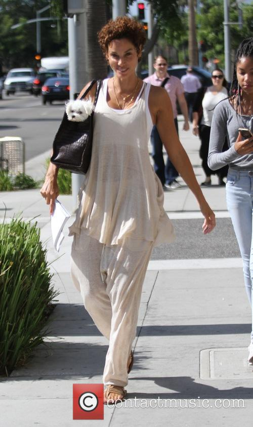 Nicole Murphy goes furniture shopping in Beverly Hills