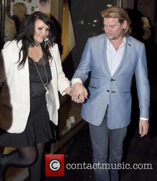 Martine Mccutcheon and Phil Turner 2