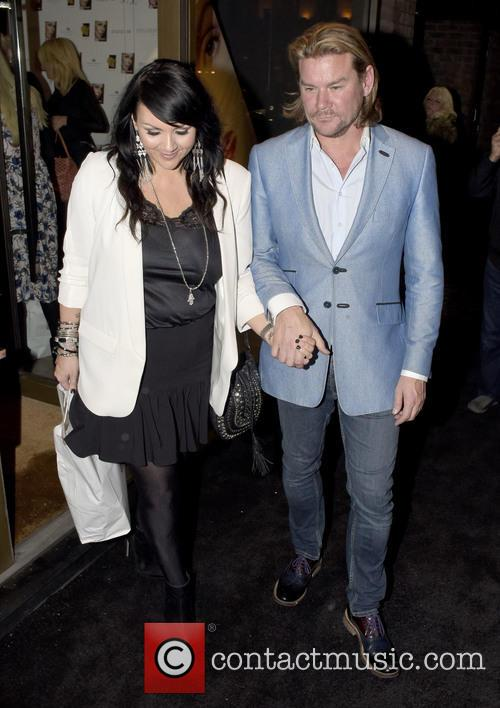 Martine Mccutcheon and Phil Turner 1