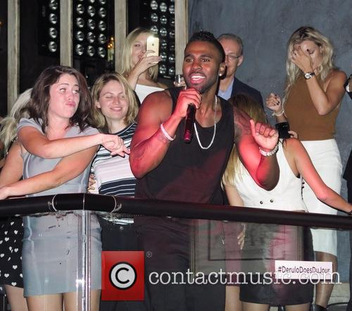 Jason Derulo celebrates his birthday at Dujour Magazine...