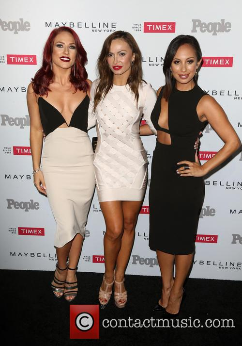 Sharna Burgess, Karina Smirnoff and Cheryl Burke 3