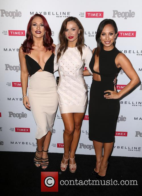 Sharna Burgess, Karina Smirnoff and Cheryl Burke 4