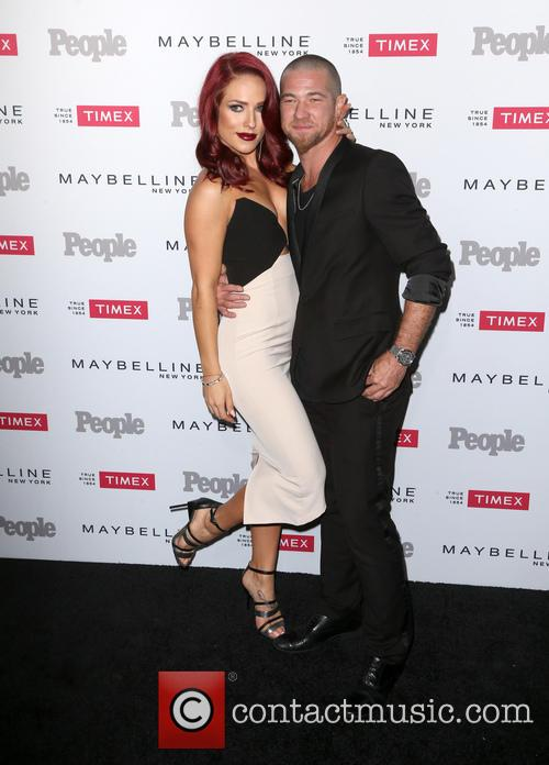 Sharna Burgess and Paul Kirkland 2